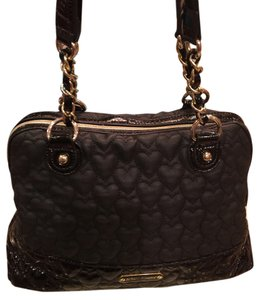 Betsey Johnson Purse Satchel in Black