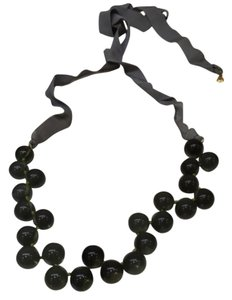 J.Crew Glass Bead RibbonNecklace