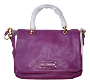 Marc by Marc Jacobs Satchel in brighter purple
