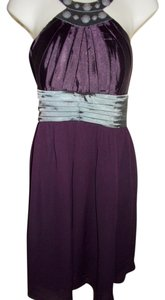 Katia short dress Purple on Tradesy