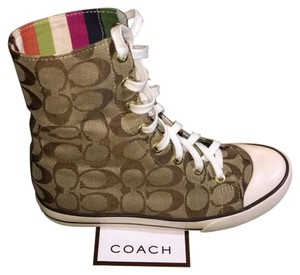Coach Khaki with chocolate 'c' Athletic