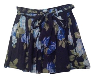 Abercrombie & Fitch Mini Skirt Navy
