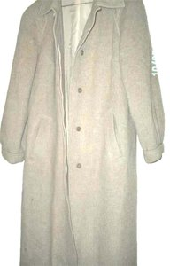 Other Embellished 1950's Full Body Vintage Wool Swing Trench Coat