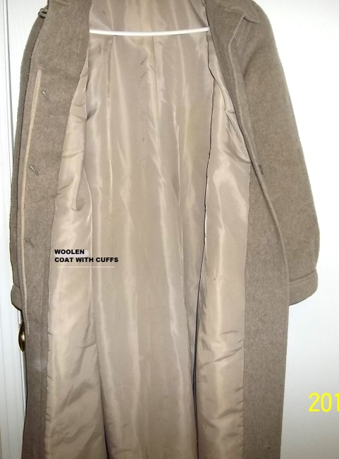 Other Embellished 1950's Full Body Vintage Wool Swing Trench Coat Image 1