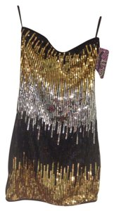 Touch of Romance Sequin Mini Party Strapless Sparkle Sexy New Dress