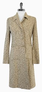 St. John Tan Tweed Knit Jacket