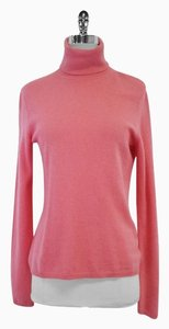 Magaschoni Pink Cashmere Tutleneck Sweater