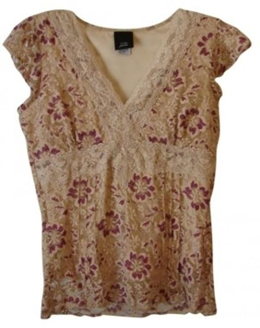 Preload https://item1.tradesy.com/images/jtb-tan-wfucia-sweet-lacey-blouse-size-petite-8-m-10830-0-0.jpg?width=400&height=650