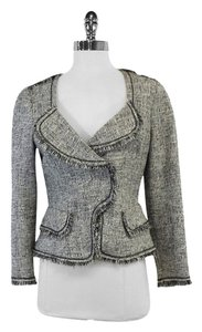 Yoana Baraschi Black White Tweed Jacket