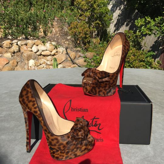 Christian Louboutin Leopard Pumps