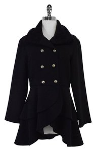 Hunter Black Silver Button Jacket