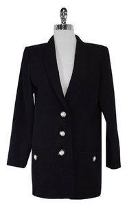 Saint Laurent Wool Black Blazer