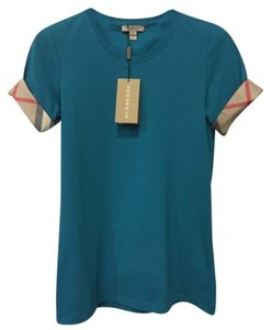 Burberry T Shirt Topaz Blue