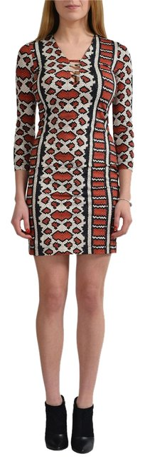 Preload https://img-static.tradesy.com/item/10830904/just-cavalli-multi-color-34-sleeves-women-s-stretch-s-it-40-short-casual-dress-size-4-s-0-1-650-650.jpg