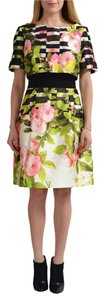 Oscar de la Renta short dress Multi-Color on Tradesy