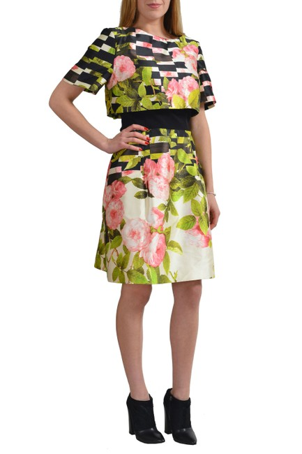Oscar de la Renta short dress Multi-Color on Tradesy Image 1