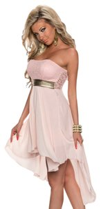 Hot Miami Styles Pinl Baby Doll Dress
