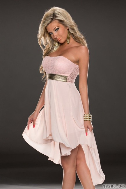 Hot Miami Styles Baby Doll Cute Lace Design Dress Image 1