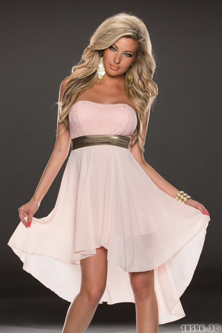 Hot Miami Styles Baby Doll Cute Lace Design Dress Image 3