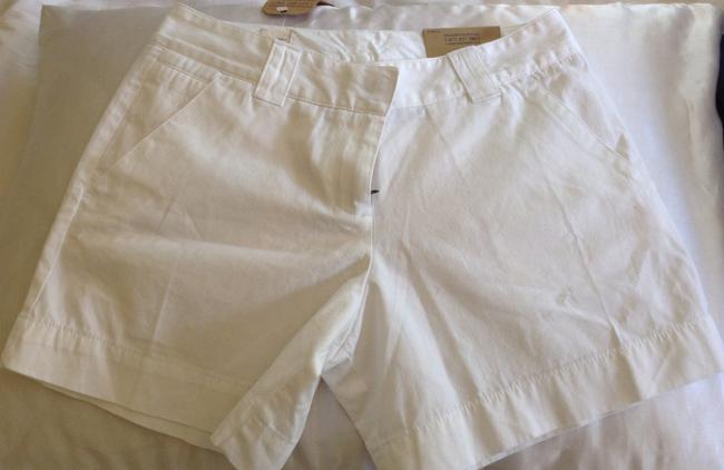 Lands' End Dress Shorts White