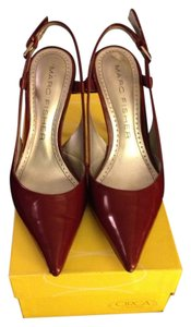 Marc Fisher Dark Red Pumps