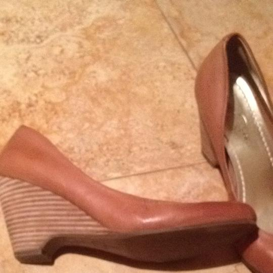Jessica Simpson Saddle Brown Formal
