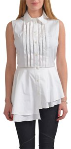 Oscar de la Renta Top White