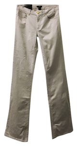 H&M Super Stretch Low Rise 8 Boot Cut Pants Sand