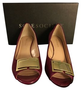 Sole Society Red Wine Wedges