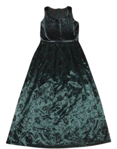 Green Maxi Dress by Coldwater Creek Size 10 Size 10 Size 10 Size 10 Size 10