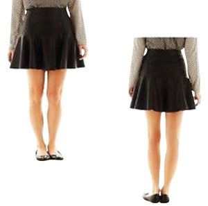 I Heart Ronson Mini Skirt Black