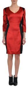 Just Cavalli short dress Red/Black on Tradesy