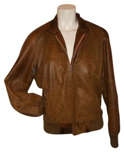 New Zealand Outback Vintage Leather brown Leather Jacket