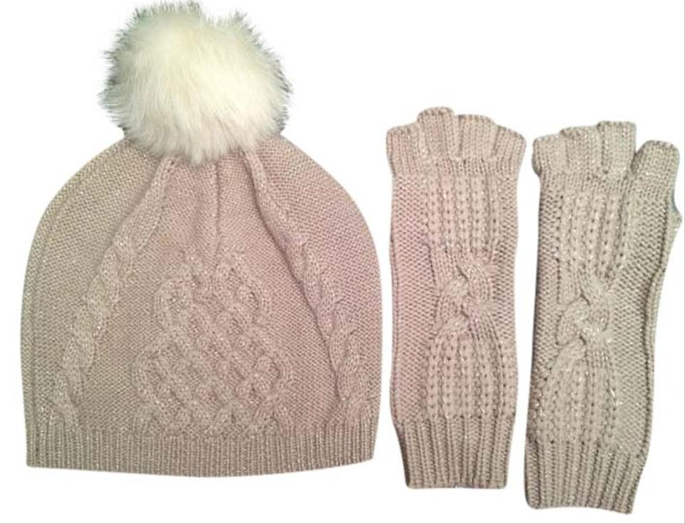 98aca7a45f64d UGG Australia Moonlight Multi Classic Cable Beanie and Fingerless Glove Set  Hat