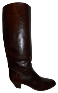 Vintage Leather reddish brown Boots