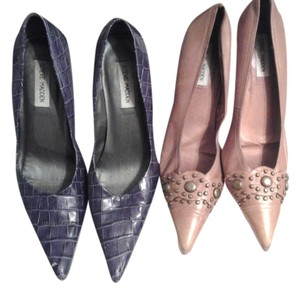 Steve Madden Purple and Rust Pumps