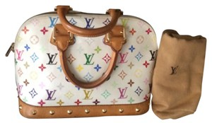 Louis Vuitton Satchel in White
