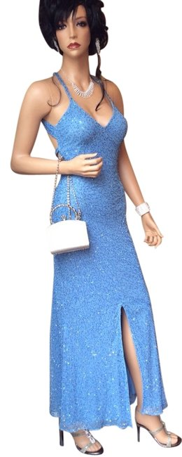 Preload https://img-static.tradesy.com/item/1083443/morgan-and-co-blue-sexy-elegant-sequence-gown-mermaid-embellished-long-formal-dress-size-4-s-0-0-650-650.jpg