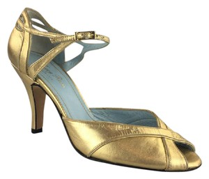 Tracy Reese Gold Sandals