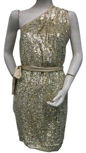 A.B.S. by Allen Schwartz Woven Sequins Dress