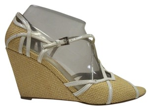 Prada Wedge White Wedges