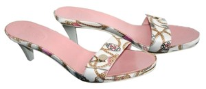 Gucci white/pink Sandals