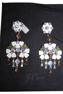 J.Crew J.CREW COSMOS CLUSTER CHANDELIER EARRINGS ANTIQUE GOLD