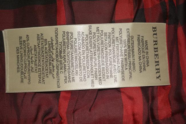 Burberry Women's Red Jacket Image 10