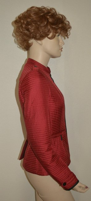 Burberry Women's Red Jacket Image 2