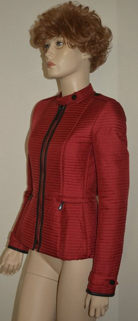 Burberry Women's Red Jacket Image 4