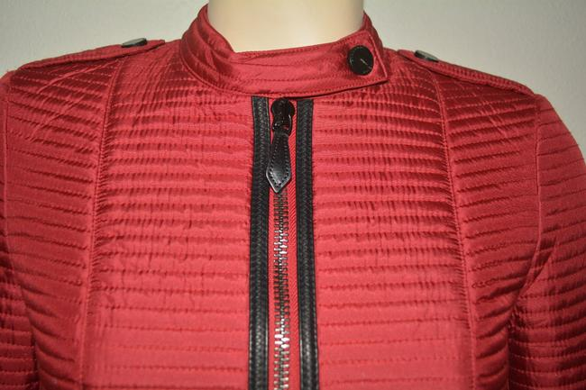 Burberry Women's Red Jacket Image 5