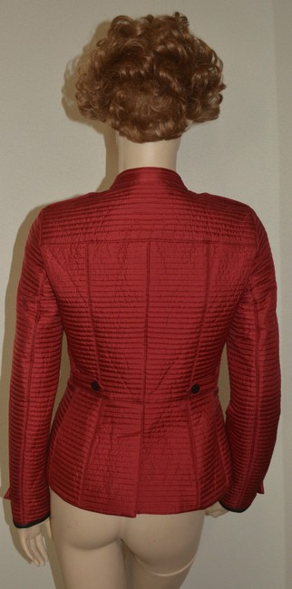 Burberry Women's Red Jacket Image 6