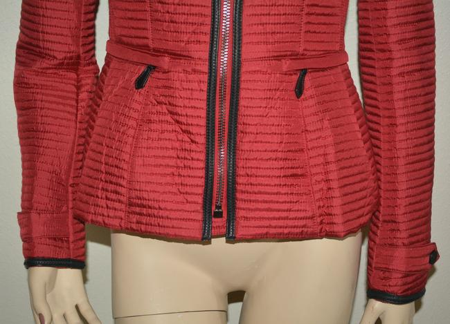 Burberry Women's Red Jacket Image 7