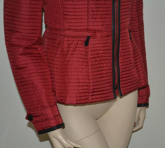 Burberry Women's Red Jacket Image 8